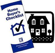 home buyer's checklist - pre-approval